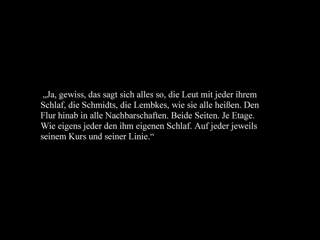 Jonas-Philipp Dallmann / Das reißend losgesagte Präsens der Erinnerung lässt alle ihre Welt auf einmal durch.