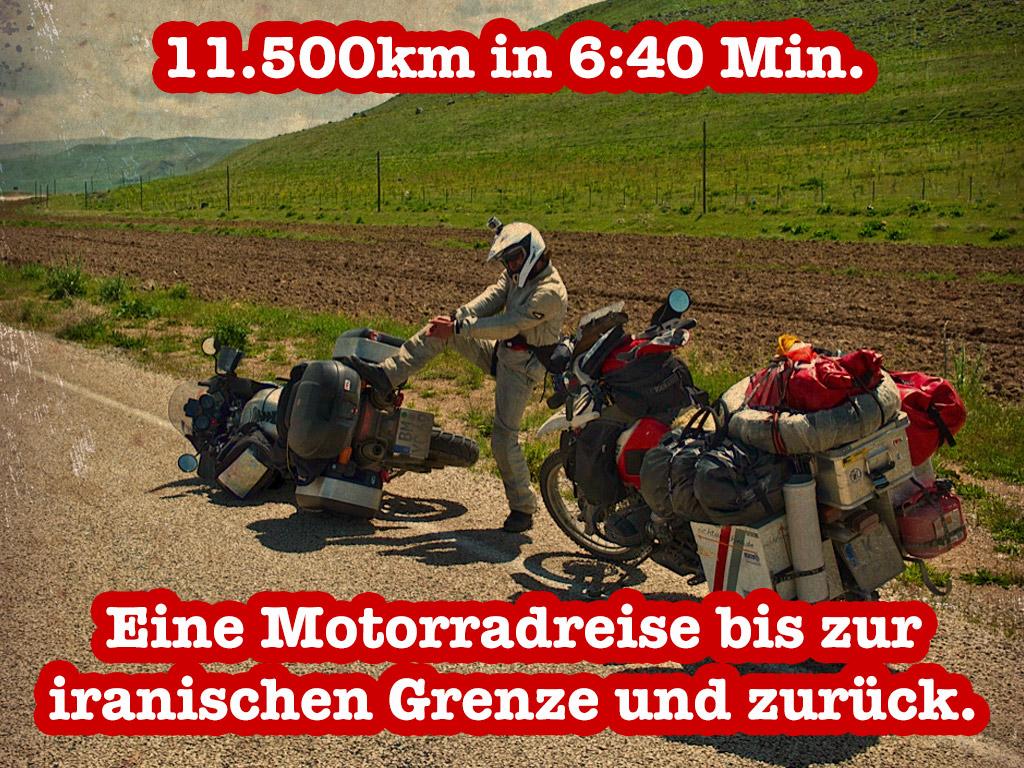 Stefan Klabunde / 11.500 km in 6:40 Min