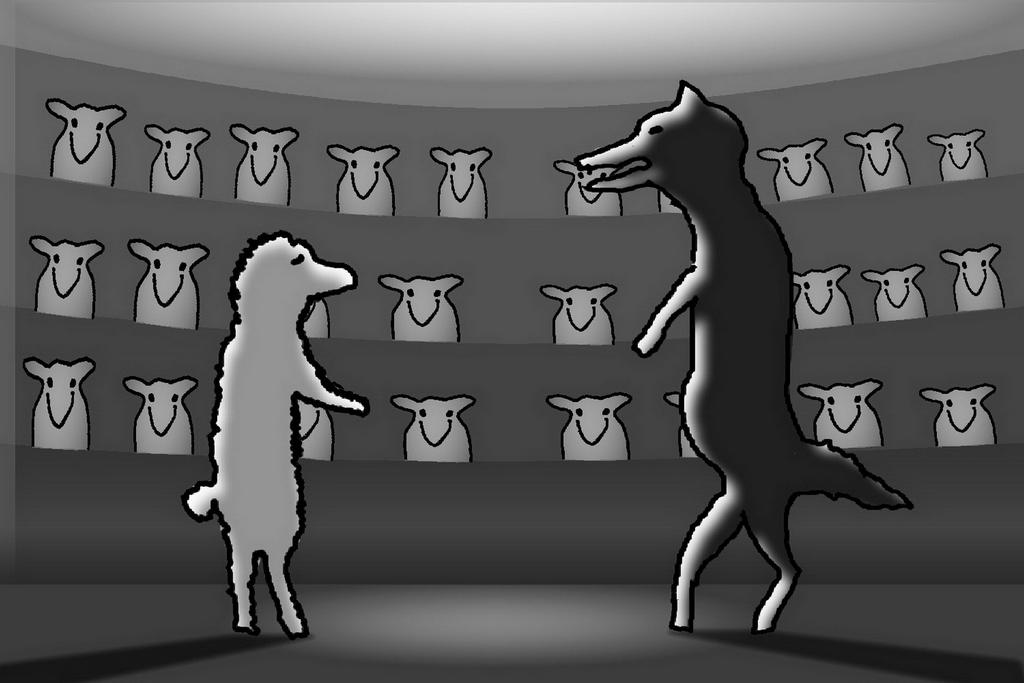 Thomas Herbrich / Schafe im Hörsaal