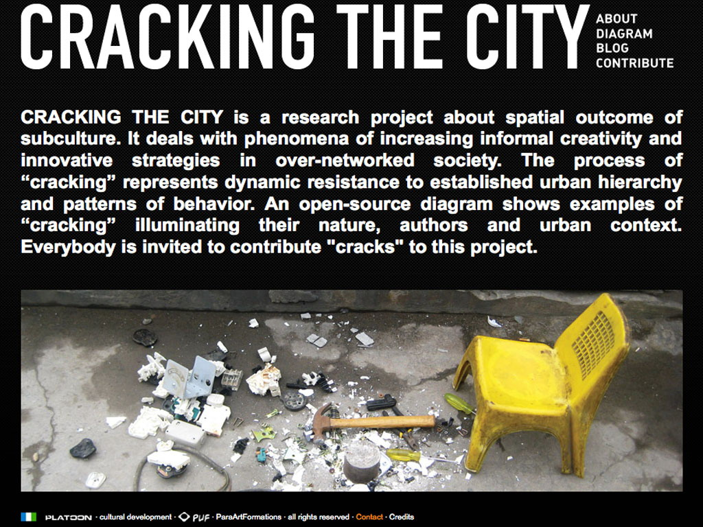 Miodrag Kuc / Cracking The City