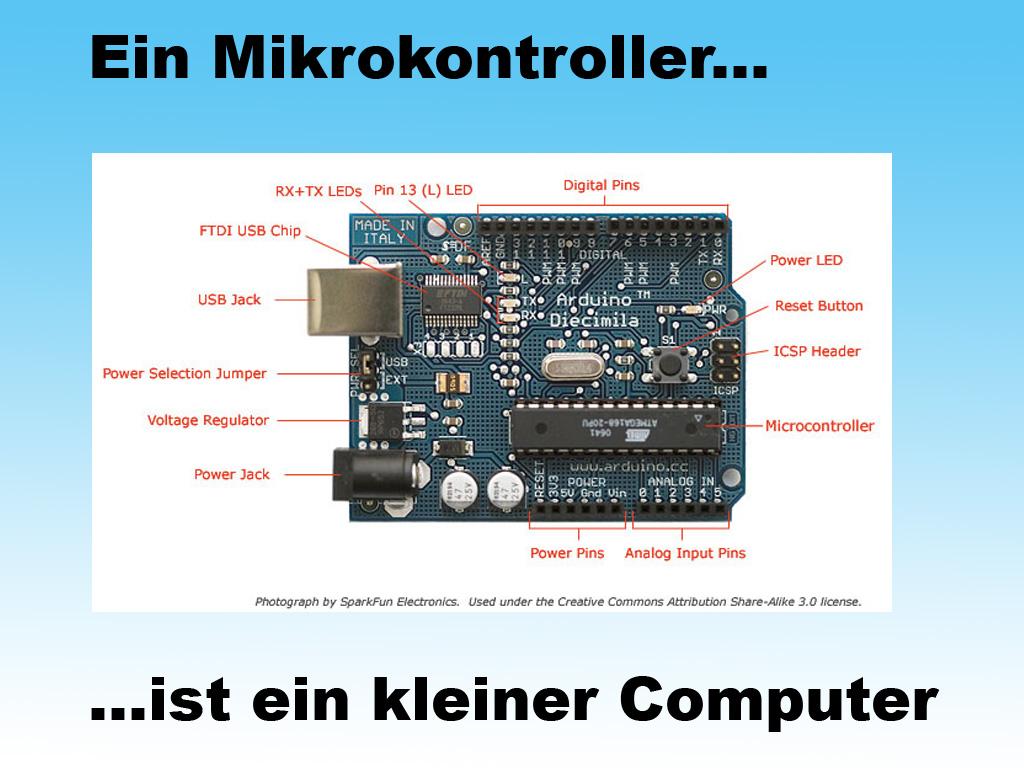 Volker Bombien / Arduino