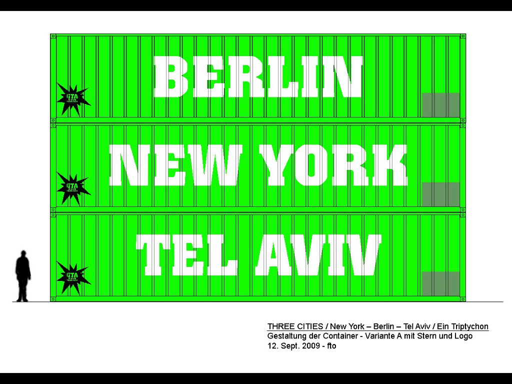 Ronald Marx / 3 Cities, New York - Berlin - Tel Aviv
