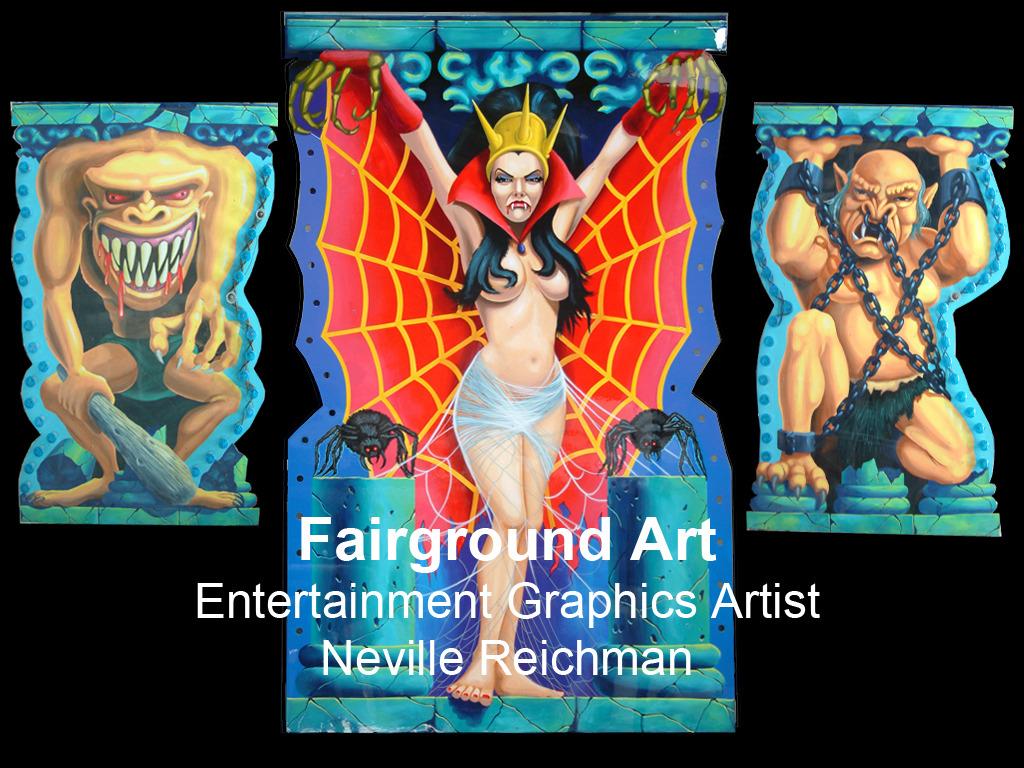Neville Reichman / Fairground Art