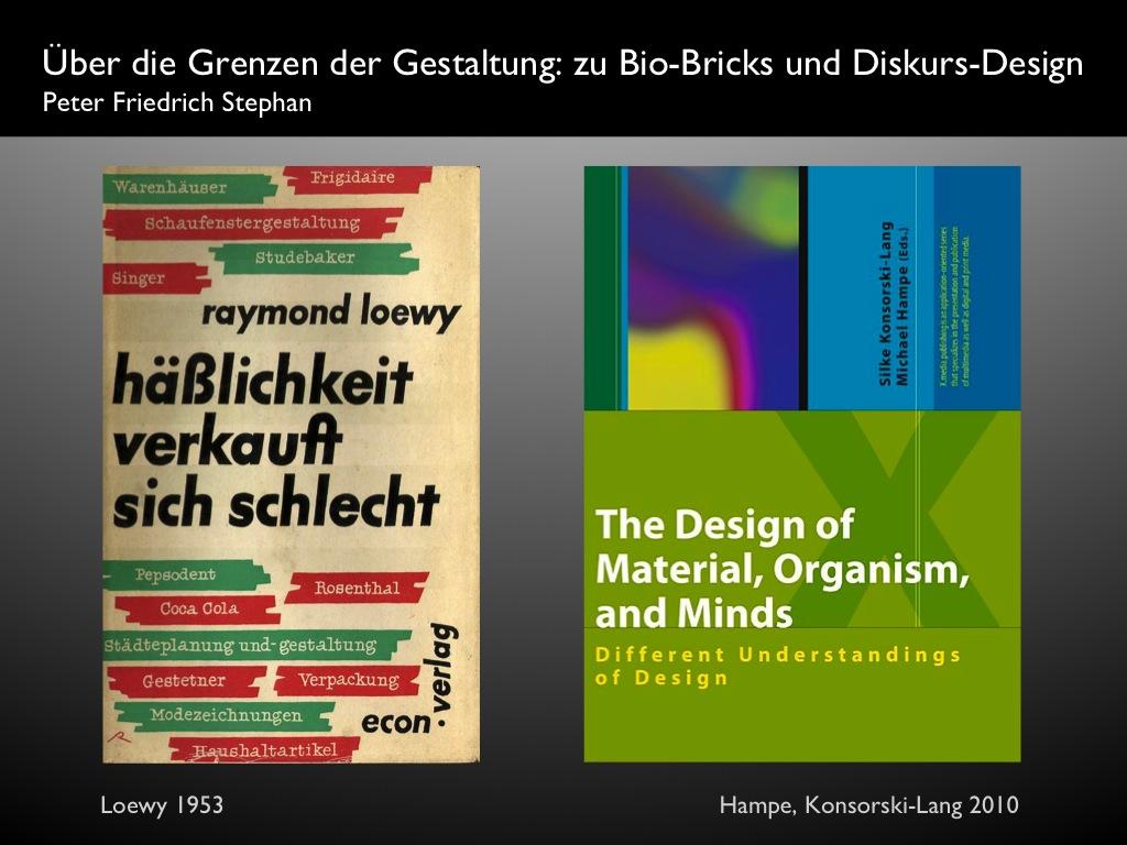 Peter Friedrich Stephan / Über die Grenzen der Gestaltung