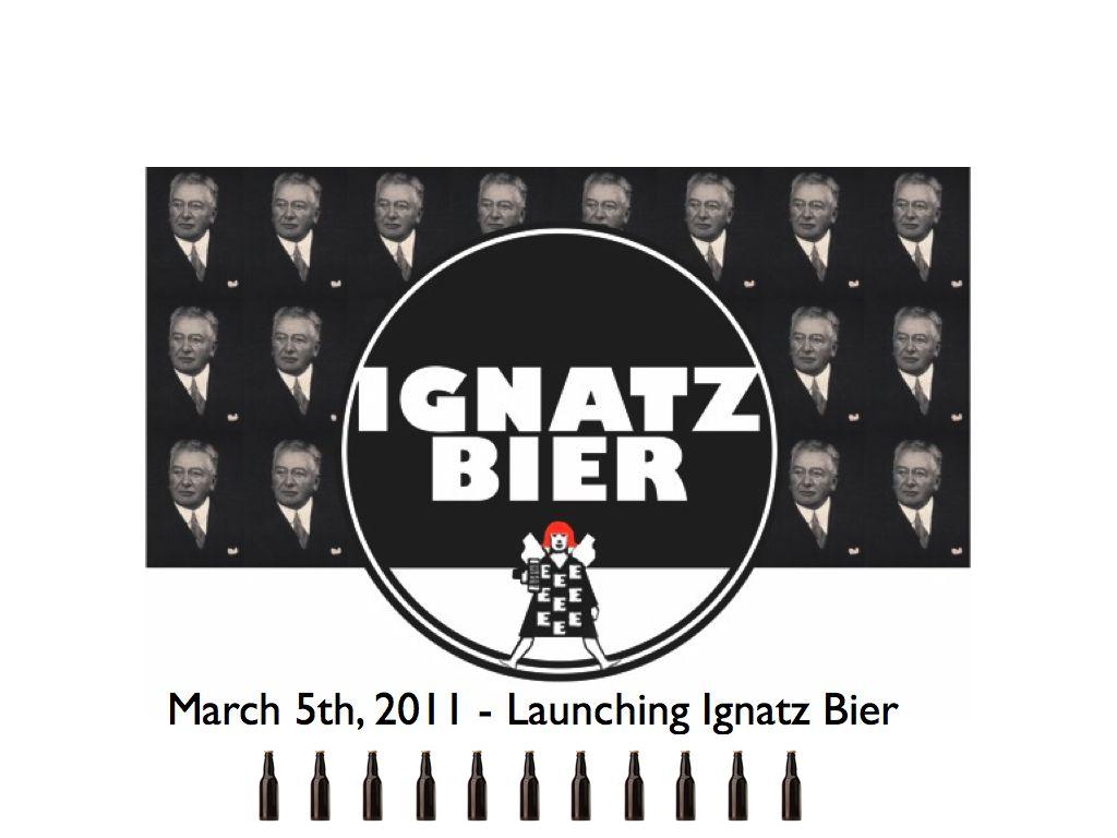 Anat Litwin / A HomeBaseBrew / Ignatz Bier