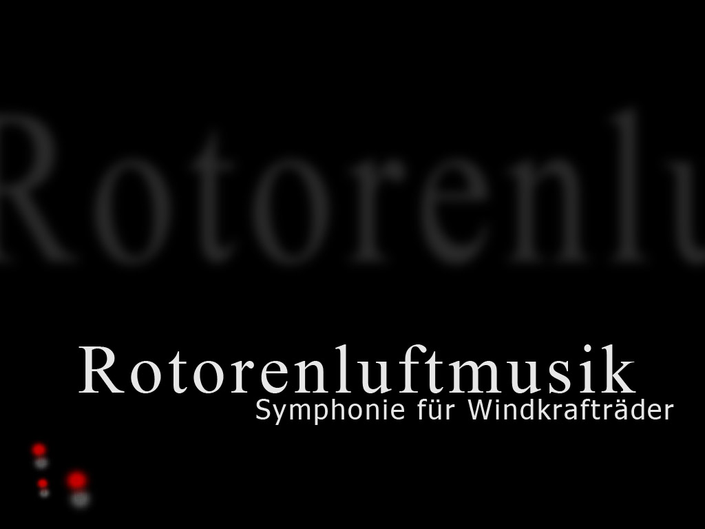 Monika Zangerle / Rotorenluftmusik