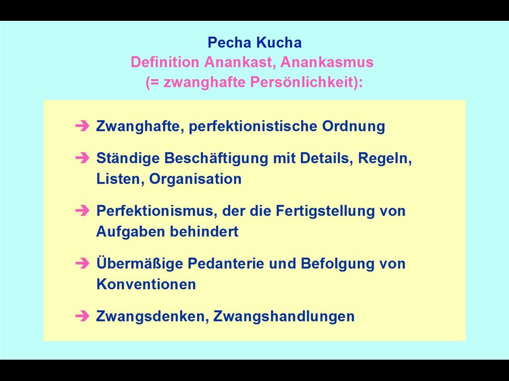 Bodo Niggemann / Der Alltags-Anankast