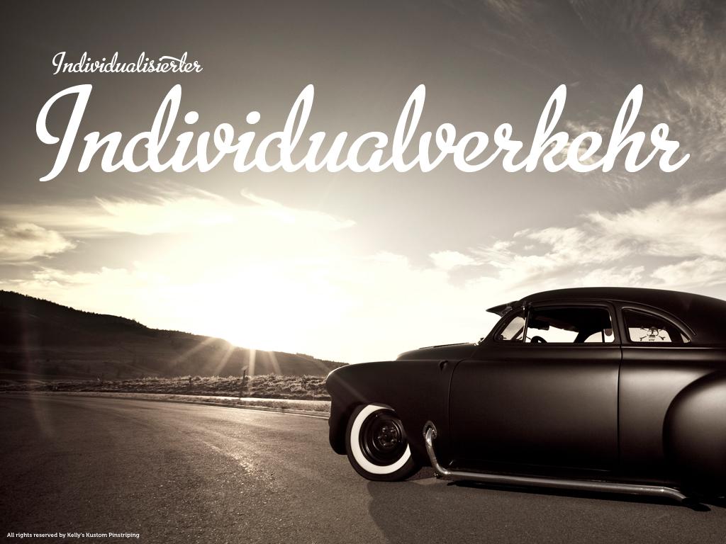 Kai Petermann / Individualisierter Individualverkehr