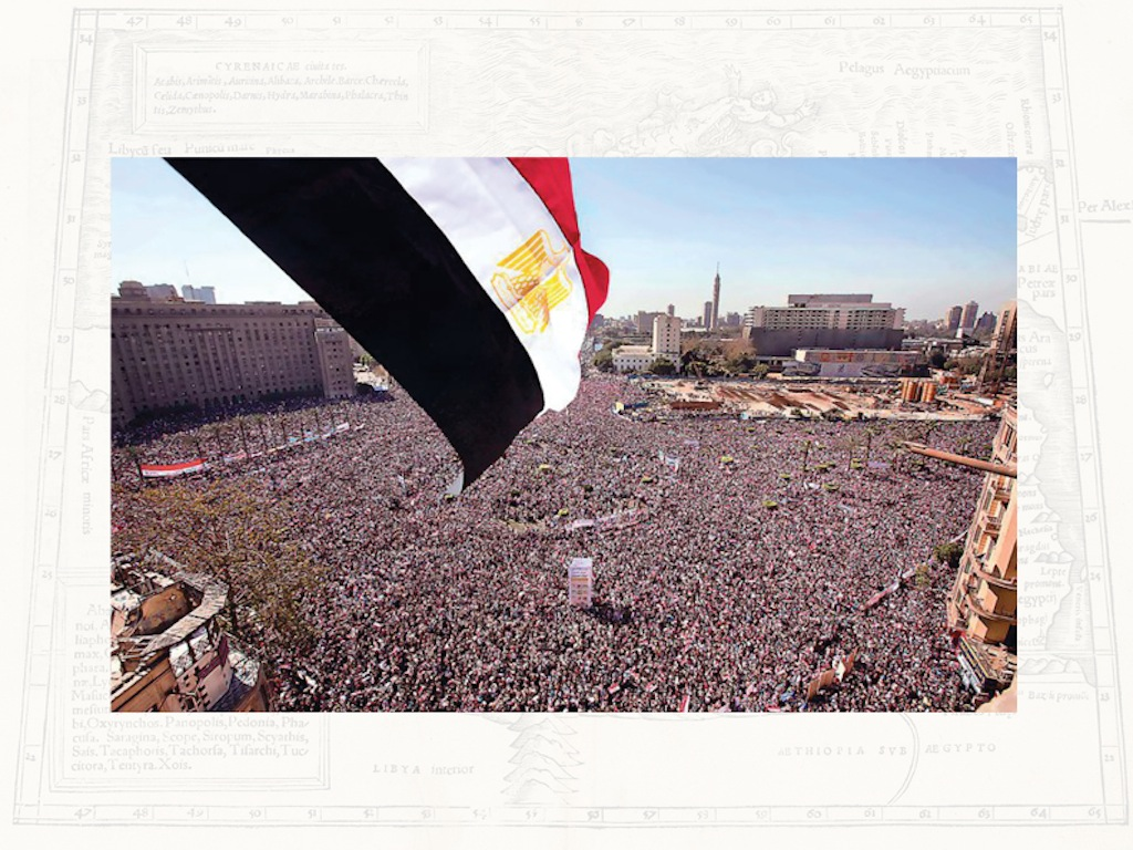 Heba Amin / Maps of Myths: Memory Space in the Egyptian Revolution