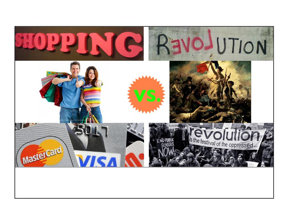 Manuel Graubner / Shopping als revolutionärer Akt