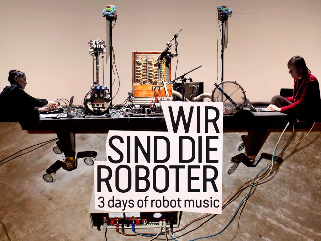 gamut inc (Marion Wörle & Maciej Sledziecki) / Wir sind die Roboter