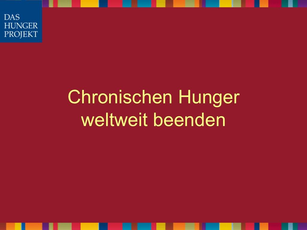 Ita Ziegs und Jutta Wallerich / Das Hunger Projekt – Chronischen Hunger weltweit beenden